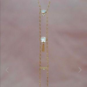 monsieur blonde necklace